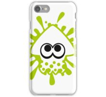 INKLING SQUID - LIME iPhone Case/Skin