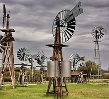 The Windmill Farm by Carl  Chick