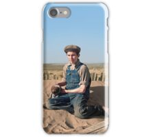 Playing on a Dune iPhone Case/Skin