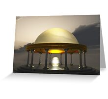 Temple Vue Greeting Card