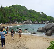 Secluded Beach by mgeritz