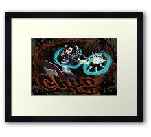 Chun Li Street Fighter Framed Print