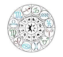 Zodiac Clock by DancingGeek