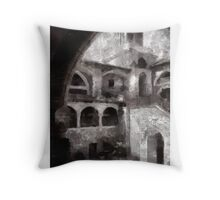 Monastery by Pierre Blanchard Throw Pillow
