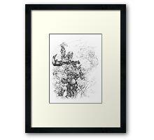 Orc Fist Framed Print