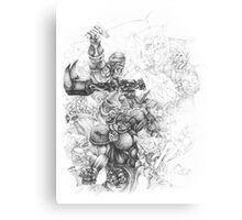 Orc Fist Canvas Print
