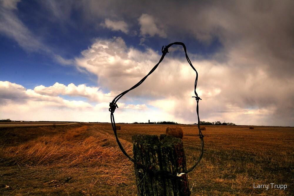 Ominous Prairie Skies by Larry Trupp