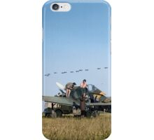 Stuka Dive Bombers Flying Over iPhone Case/Skin