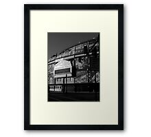 Wrigley field..home of the cubbies Framed Print