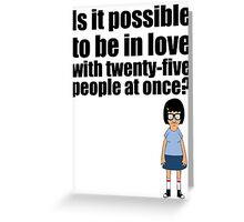Tina Belcher Greeting Card