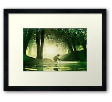 Launch Framed Print