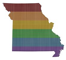Missouri Rainbow Gay Pride by surgedesigns