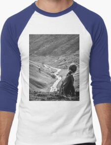 Icelandic Valley 2 Men's Baseball ¾ T-Shirt
