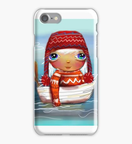 fishing trip iPhone Case/Skin