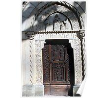 Grazzano -The little Gothic Church Poster