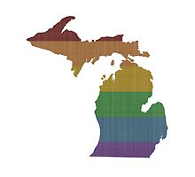 Michigan Rainbow Gay Pride by surgedesigns