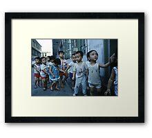cantonese nursery Framed Print