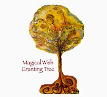 Magical Wish Granting Tree Womens Fitted T-Shirt