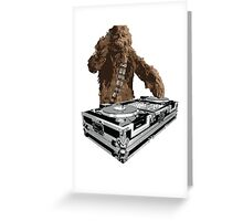 Wookiee Wookiee Greeting Card