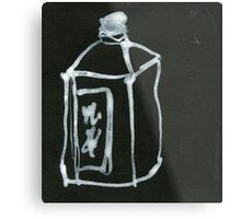 water bottle Metal Print