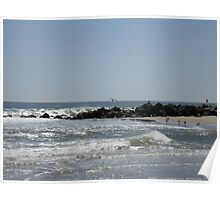 The Magic of the Sea, Sea Girt, New Jersey USA Poster