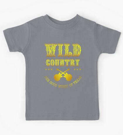 Wild Country music Kids Tee