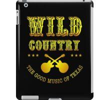 Wild Country music iPad Case/Skin