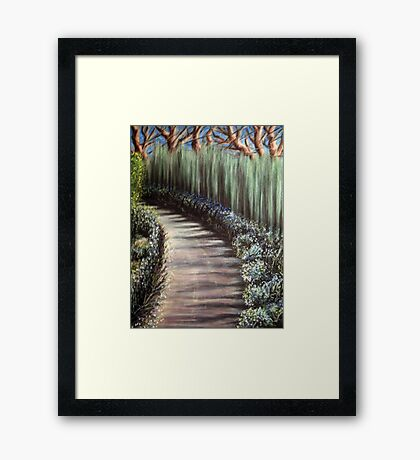 Laughing Forest Framed Print