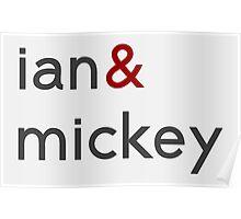 Ian & Mickey Poster