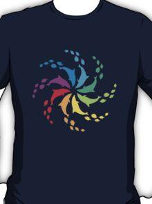 Color: Dolphin Rainbow Pinwheel T-Shirt