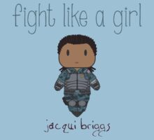 Fight Like a Girl - Mortal Kombat's Jacqui Briggs Kids Clothes