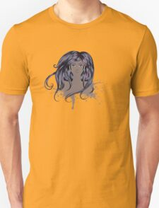 Woman with Long Hair T-Shirt