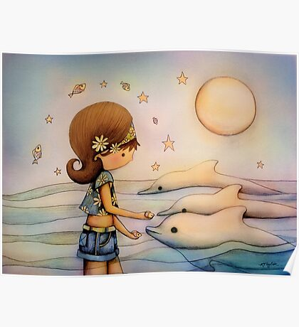 dolphin paradise Poster