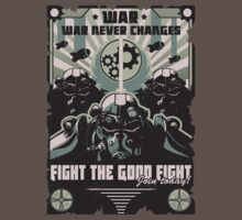 War Never Changes, fight the good fight - Fallout by IryntArt