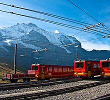 Jungfraubahn Cog Railway - Switzerland by Jason Murray
