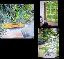 My garden ( Bris Aust) by gillsart