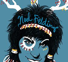 Noel Fielding: Blue Diamonds by Seahorse Carousel