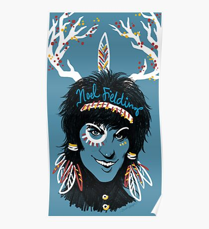 Noel Fielding: Blue Diamonds Poster