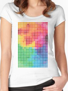 Polychromatic Women's Fitted Scoop T-Shirt
