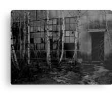 Creepy Entrance Metal Print