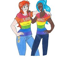Nami and Vivi: Love Wins by usopping