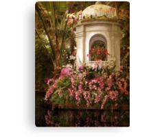 Orchid Show Canvas Print