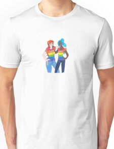 Nami and Vivi: Love Wins Unisex T-Shirt