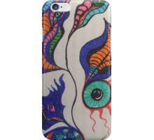 eye feathers iPhone Case/Skin