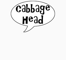 Insults Collection: Cabbage Head Unisex T-Shirt