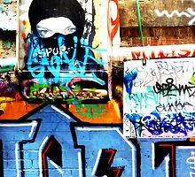 Graffiti Ninja by fluttering