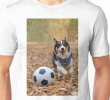 Four-legged Soccer Player Unisex T-Shirt