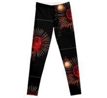 Burst of Fireworks - 1 Leggings