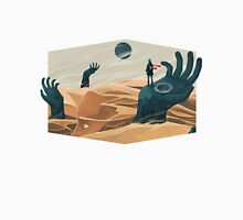 The wanderer and the desert portals Unisex T-Shirt