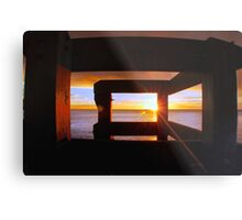 Last Light... Metal Print